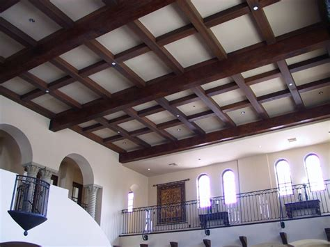 Beamed Ceiling by Wainscoting Base Boards Ceiling Beams Ceiling Tiles