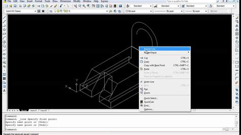 autocad tutorial youtube 2010 autocad 3d modeling tutorial 3 part 2 youtube