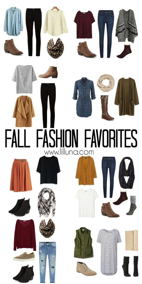 how to put together a wardrobe box fall fashion favorites