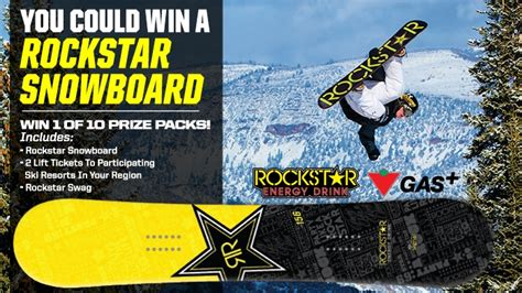 Snowboard Giveaway Contest - rockstar canadian tire petroleum snowboard contest rockstar energy drink