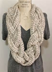 Crocheted Infinity Scarf Crochet Infinity Scarves Simple Versatile And Great For