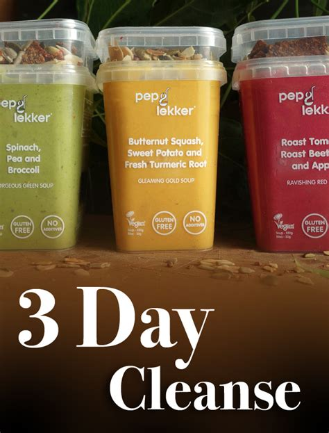 3 Day Detox Soup Cleanse by A Delicious Soup Cleanse And Detox From Pep And Lekker