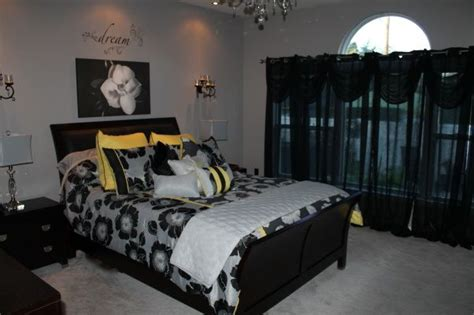 black white gray and yellow bedroom 11 best images about bedroom ideas yellow black on
