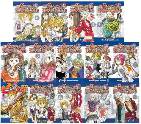 anoboy seven deadly sins the seven deadly sins manga book series by nakaba suzuki