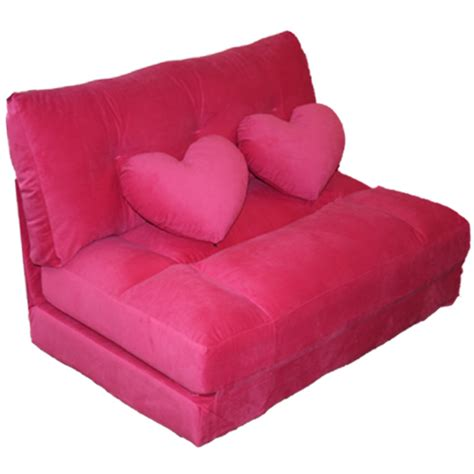 Pink Sofa Bed Decor