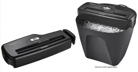 best buy insignia portable shredder only 7 99 shipped bestbuy insignia 6 sheet stripcut portable shredder only