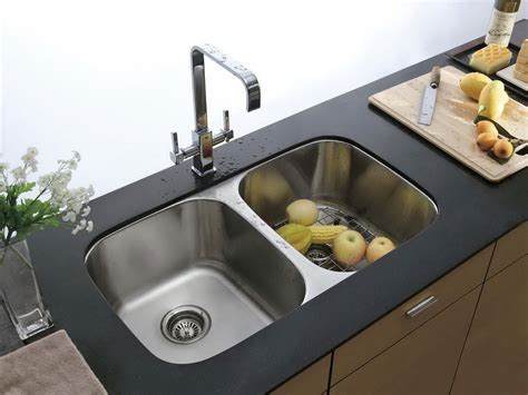 double sink kitchen 30 double bowl kitchen sink decosee com