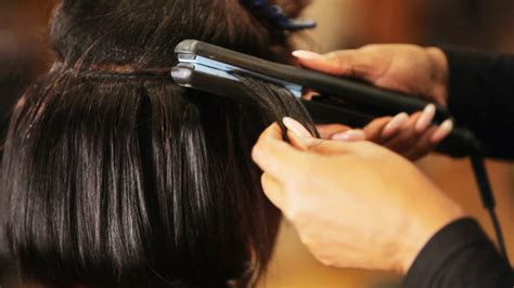 style a glue in how to flat iron hair tracks for weave black hairstyles
