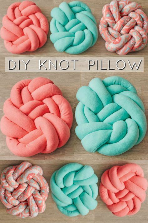 knot pillow 1000 ideas about knot pillow on knots no sew