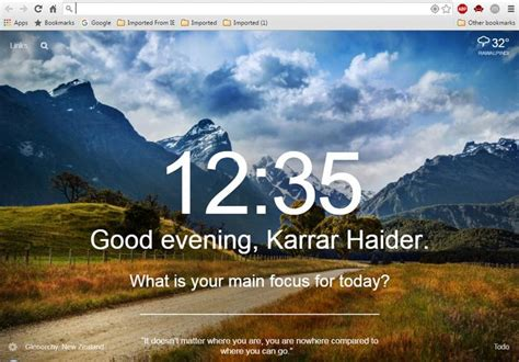 theme chrome momentum 5 chrome extensions for a motivational new tab page