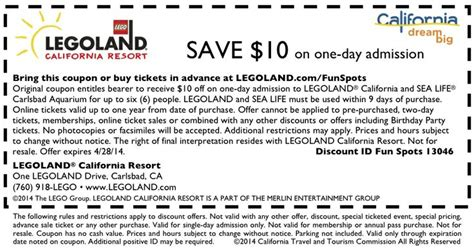 printable legoland tickets legoland coupon http www visitcalifornia com fun spots