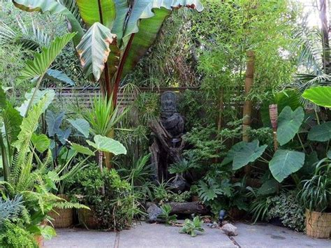 small tropical theme home garden design 4 home ideas