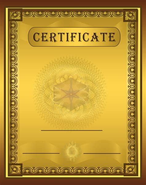 certificate designs templates vector templates of certificates design set 03 vector