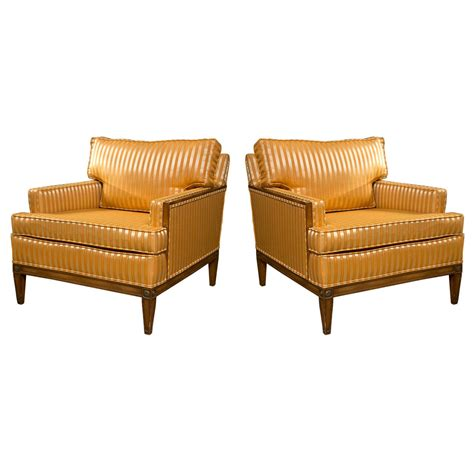 deco style club chairs pair of deco style club chairs at 1stdibs