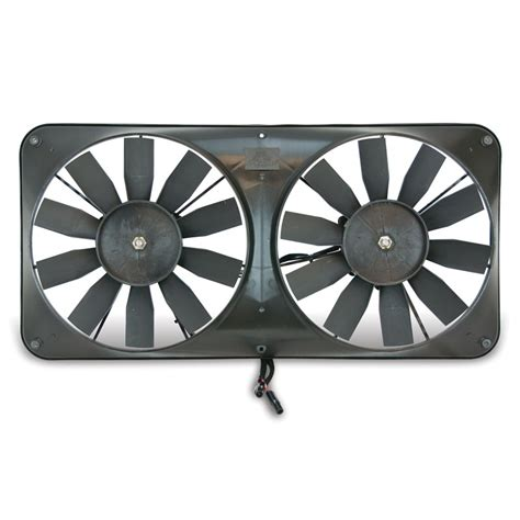 dual electric fan controller flex a lite automotive compact reversible dual 11 inch