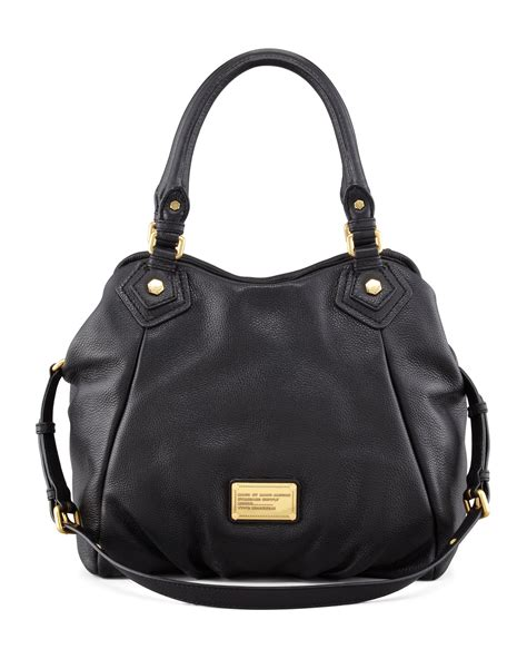 Classic In Black In Marc By Marc Satin Pumps by Lyst Marc By Marc Classic Q Fran Hobo Bag In Black