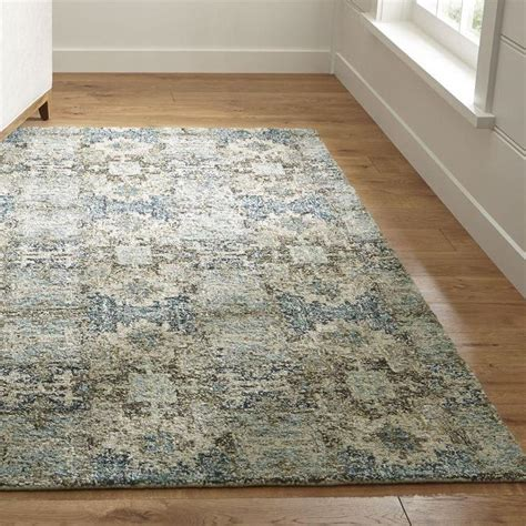 wool rug alvarez mineral blue wool blend rug