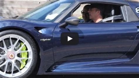 seinfeld porsche 918 jerry seinfeld out in his new porsche 918 spyder video