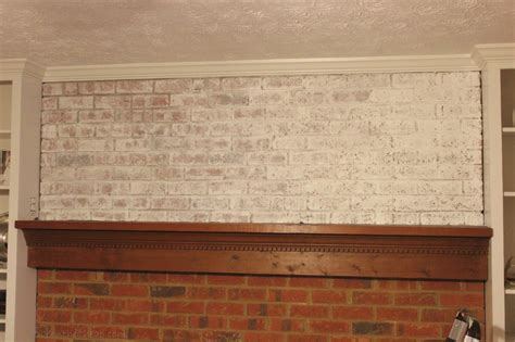 How To Whitewash A Brick Fireplace Erin Spain Ideas For Painting Brick Fireplaces