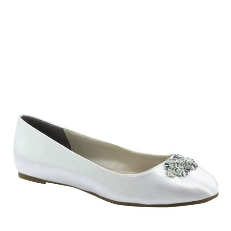 dyeable flat wedding shoes meghan flat bridal shoes by touch ups dyeable size 5 11