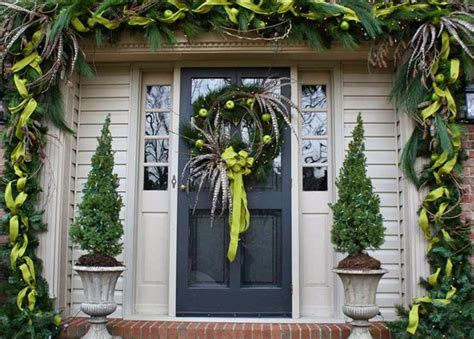 front door entrance decorating ideas front door area christmas decorating ideas stylish home