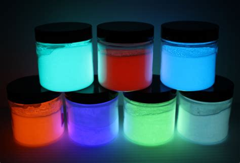 glow in the paint or powder alumiglow heat cured glow powder paint for tungsten