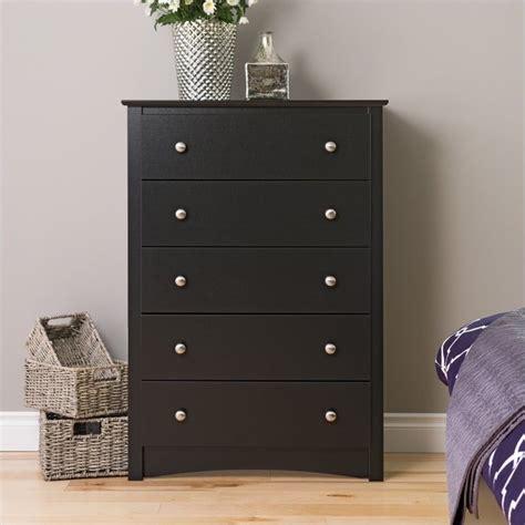 Black Wood Dresser Prepac Sonoma Black King Wood Platform Storage Bed 6 Pc Ebay