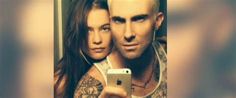 New Hair Same by Adam Levine Dyed His Hair And Nothing Will Be The Same