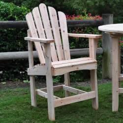 Free Plans Adirondack Chairs Shine Company Westport Counter High Adirondack Chair