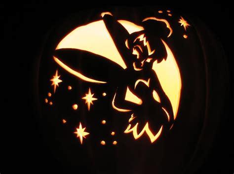 pumpkin carving stencils disney tinkerbell images
