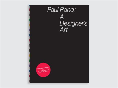 paul rand a designers 1616894865 the best designed design books of the year co design