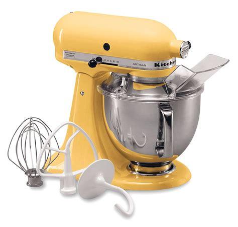 Kitchenaid Yellow Cake Recipe Kitchenaid Artisan 5 Quart Stand Mixer Only 136 24