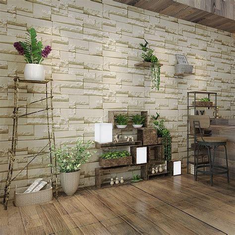Moderne Wohnzimmer Mit Steintapete Wohnideen Steintapete Moderne Dekoration Wohnzimmer Mit