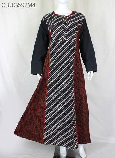 Gamis Batik Sogan gamis sogan merah klasik gamis batik murah batikunik
