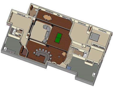 dollhouse view dle2 dollhouse view basement finish design