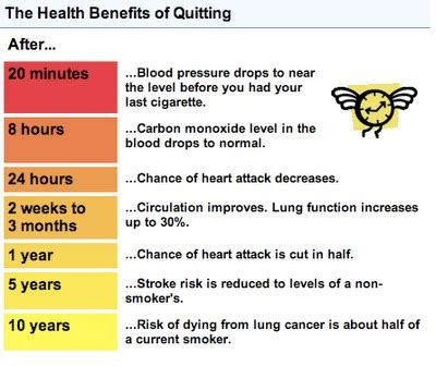 8 Reasons To Quit Your Day by Benefits Of Quitting Today