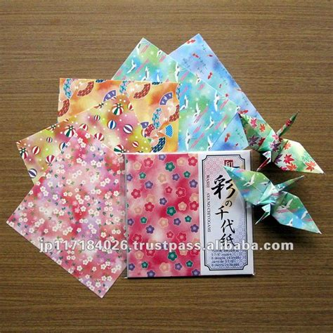 Japanese Folding Paper - japanese paper folding view paper folding washi aya no