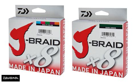 Senar Pe Daiwa J Braid Pe 1 5 25lb 150m new daiwa j braid x8 fishing line 300m spool all colours