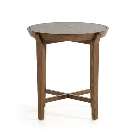 modern side tables for living room modrest olenna modern walnut side table end tables