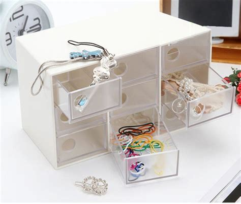 Jual Accessories 9 Drawers Storage Box Limited 2pcs lot storage drawer display storage jewelry