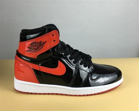 patent leather basketball shoes air 1 patent leather banned basketball shoe for