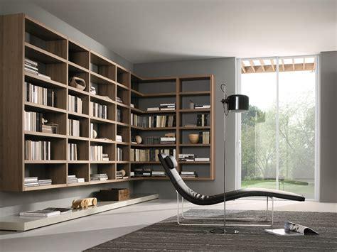 libreria angolare legno libreria componibile angolare in legno crossing libreria
