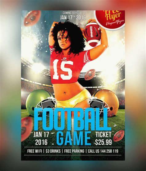 free football flyer templates 25 free sports flyers templates ginva