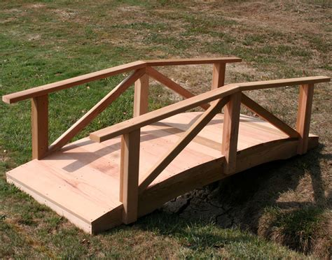 wooden bridge designs creekvine designs cedar wood pearl river garden bridge