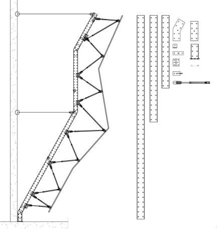 climbing wall design 187 engineering reports structure walltopia climbing walls