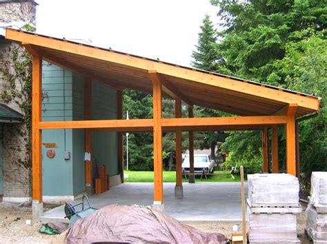 garage plans with carport pictures of small post and beam structure post and beam