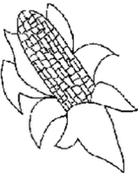 coloring sheets for kids ear of corn coloring page