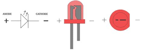 led resistor on positive or negative barefoot electronics