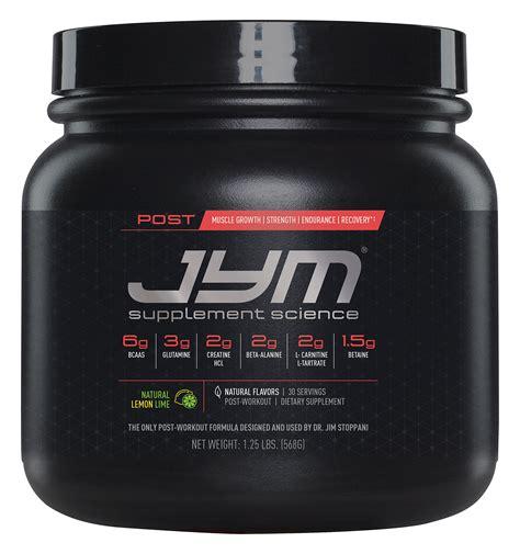 creatine jym jym supplement science post jym fast