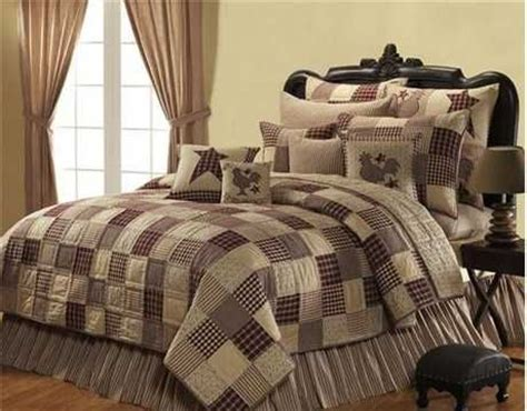 Country Bed Comforters by 1000 Ideas About Primitive Bedding On